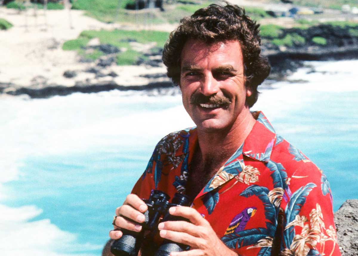 Tom Selleck Wants to be Magnum Again
