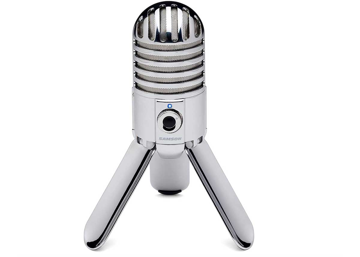 Retro Styling is Icing on the Cake for the Samson Meteor USB Studio Microphone