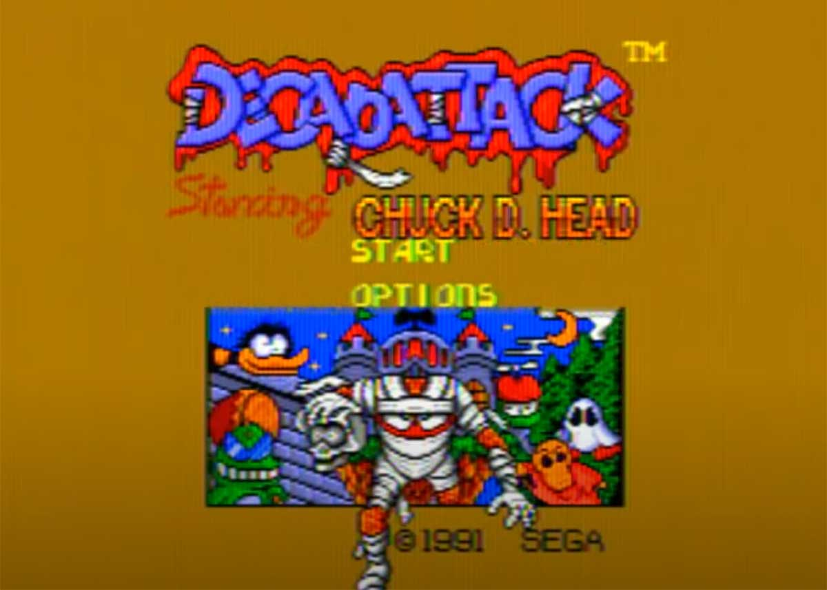 Decap Attack the Video Game