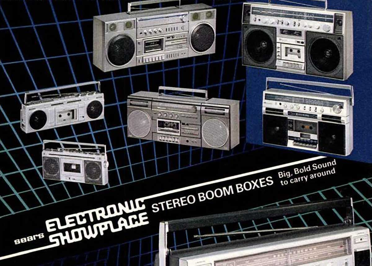 Remember the Sears Electronic Showplace?