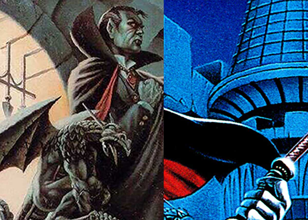The Art for Ravenloft and Castlevania II are very Similar